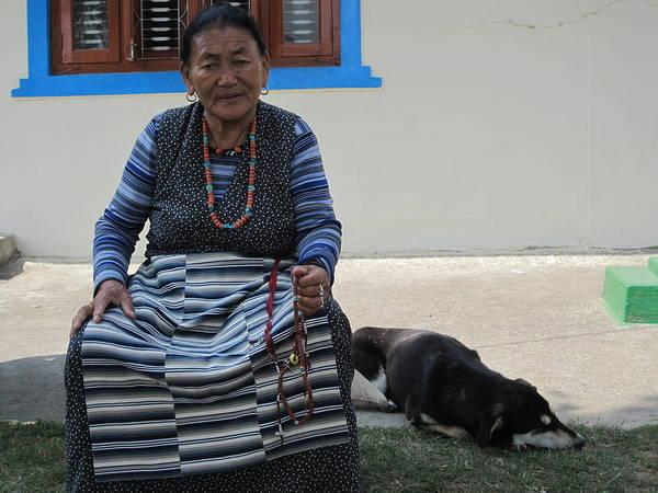 Photograph - Tibetan Woman by Annette Hadley