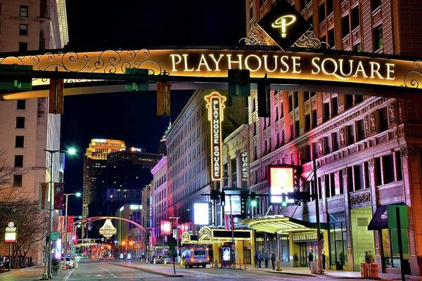 Playhouse Photograph - Tickets Available by Frozen in Time Fine Art Photography