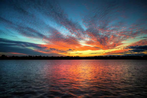 Photograph - Tidal Basin Sunset by Ryan Wyckoff