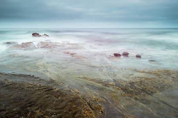 Marine Layer Photograph - Tidal Games by Alexander Kunz