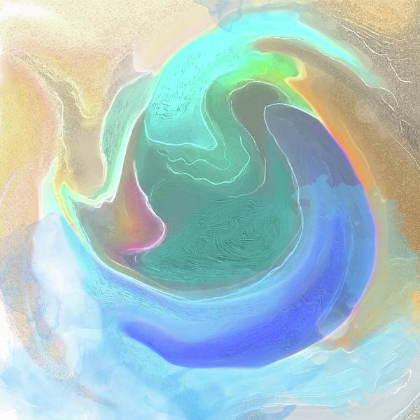 Digital Art - Tidal Pool by Gina Harrison