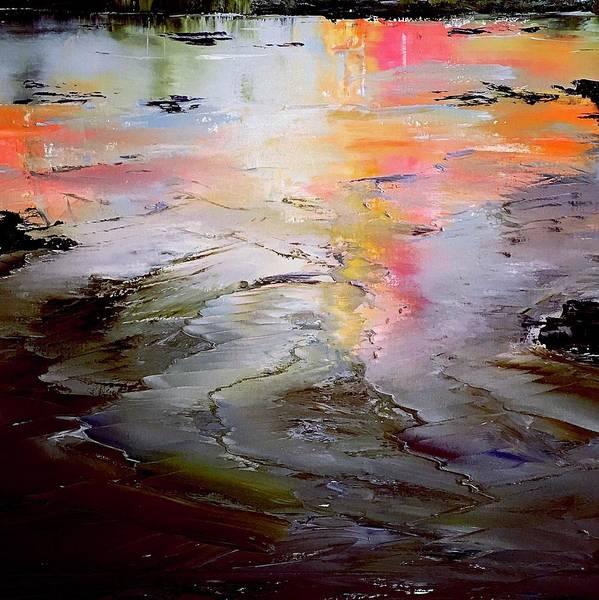 Wall Art - Painting - Tidal Pool by Julia S Powell