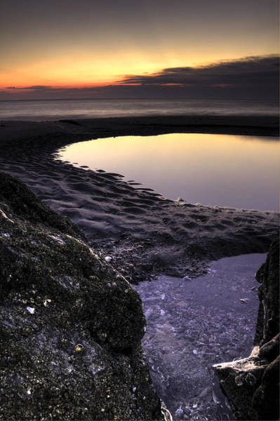 Tidal Photograph - Tidal Pool Reflections by Dustin K Ryan