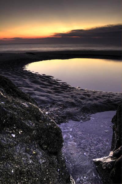 Photograph - Tidal Pool Reflections by Dustin K Ryan