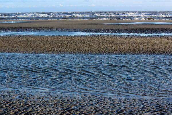 Kiawah Island Photograph - Tidal Ripples by Rosanne Jordan