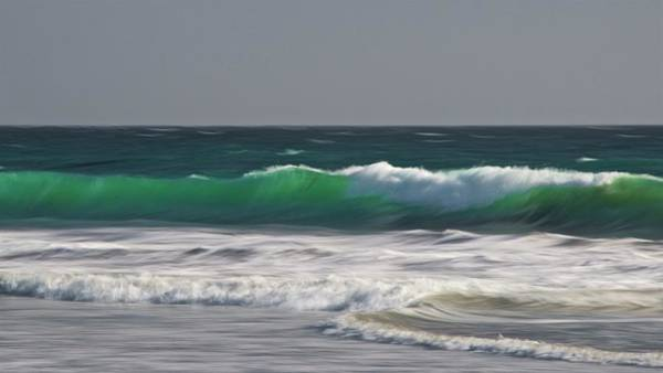 Photograph - Tidal Surf Motion, Central California Coast by Flying Z Photography by Zayne Diamond