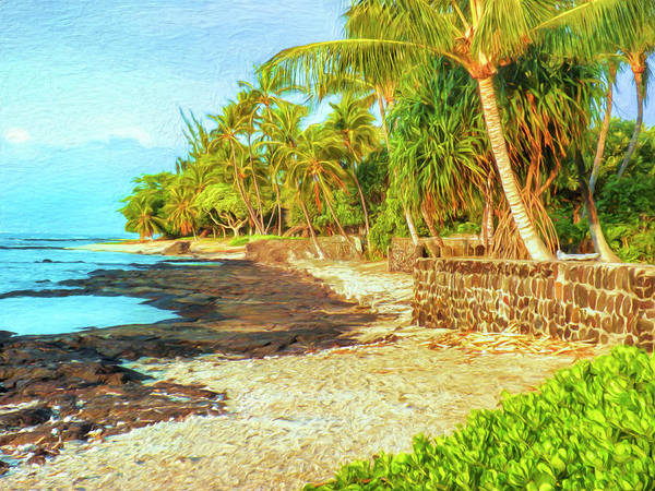 Painting - Tide Pools At Puako by Dominic Piperata