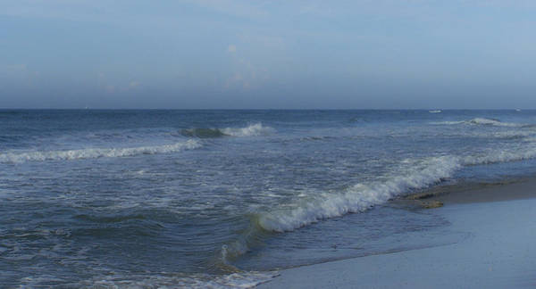 Wall Art - Photograph - Tide Rolling In Ocean Isle Beach North Carolina by Teresa Mucha