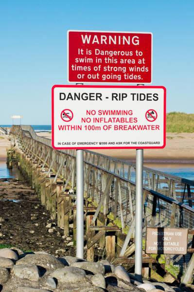 Wind Surfing Photograph - Tide Warning by Tom Gowanlock