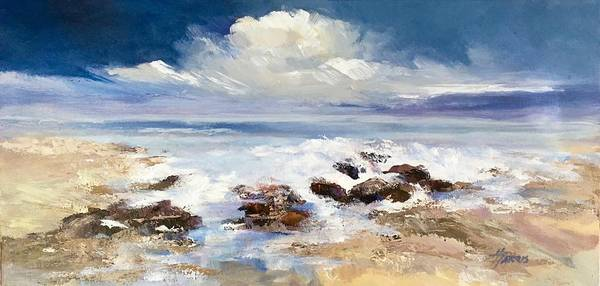 Painting - Tidepool by Helen Harris