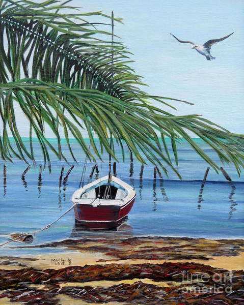 Painting - Tides Out by Marilyn  McNish