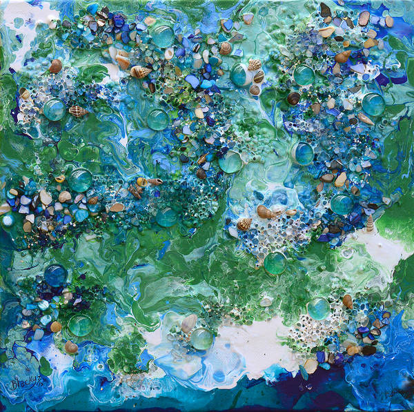 Wall Art - Painting - Tidewater by Donna Blackhall