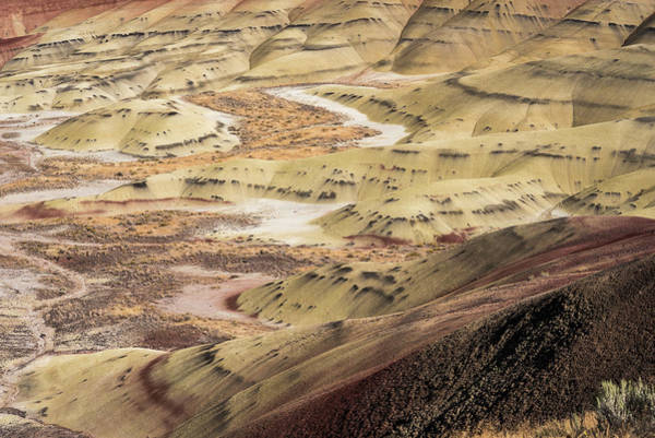 Photograph - Tie Dye Hills by Robert Potts