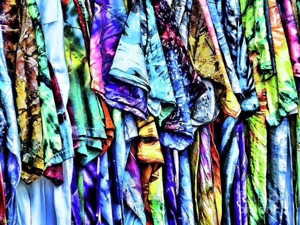 Photograph - Tie Dye Tshirts by Jeff Breiman