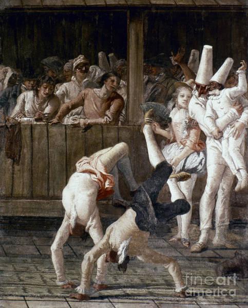 Photograph - Tiepolo: Acrobats, 18th C by Granger