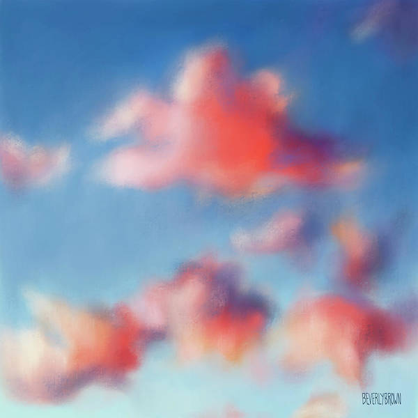 Wall Art - Painting - Tiepolo Clouds by Beverly Brown