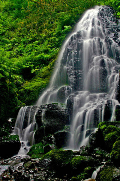 Wall Art - Photograph - Tiered Falls by Scott Mahon