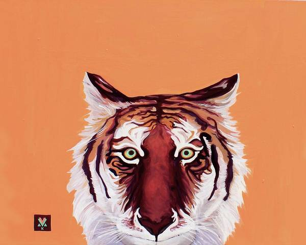 Wall Art - Painting - Tiger Eyes by Alexis Keys Art