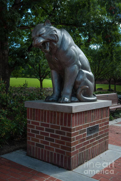 Photograph - Tiger Statue by Dale Powell