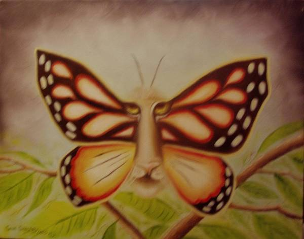 Painting - Tigerfly by Gene Gregory