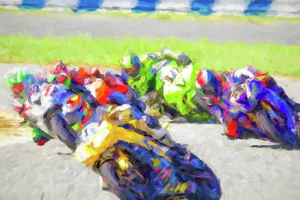 Wall Art - Photograph - Tight Racers by Alice Gipson