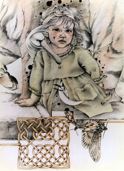 Drawing - Tihe Mauriora by Johanna Pieterman