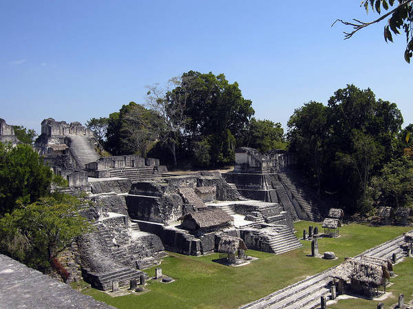 Photograph - Tikal II by Kurt Van Wagner
