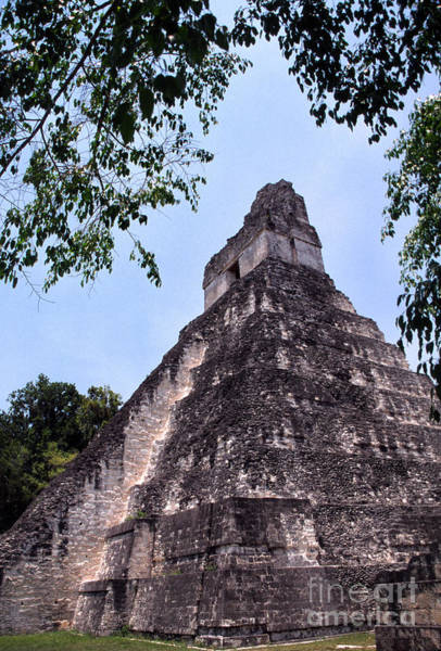 Photograph - Tikal Temple by Thomas R Fletcher