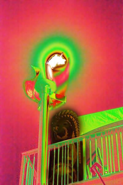 Photograph - Tiki Porch by Richard Henne