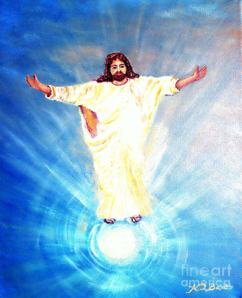 Emanate Painting - Til' All Shall See Jesus by Kimberlee Baxter