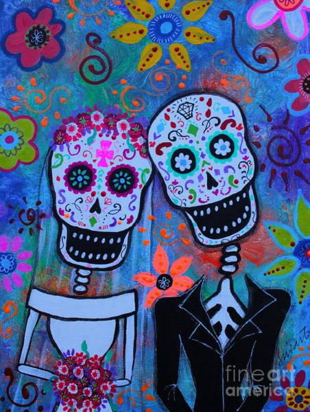 Painting - Til Death Do Us Part by Pristine Cartera Turkus