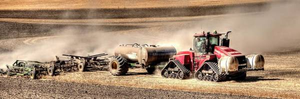 Photograph - Till And Fertilize 2 by Jerry Sodorff