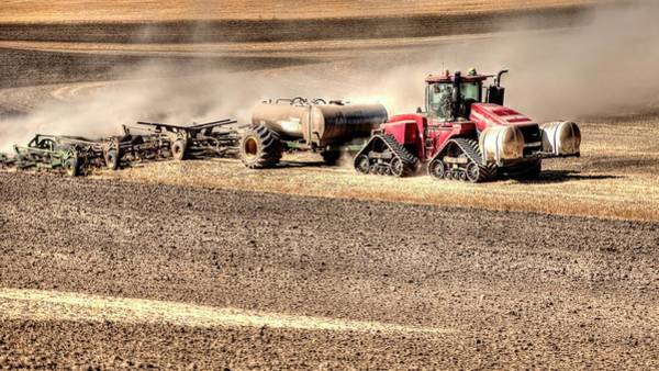 Photograph - Till And Fertilize by Jerry Sodorff