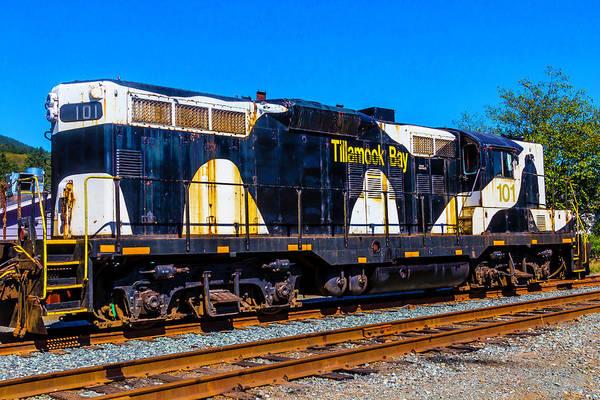 Costal Photograph - Tillamook Bay 101 Engine by Garry Gay