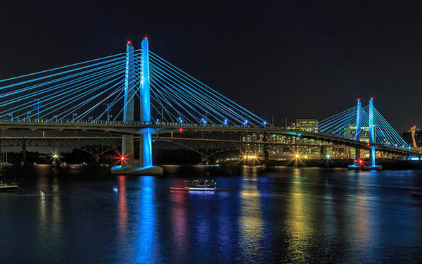Photograph - Tilikum Crossing by Wes and Dotty Weber