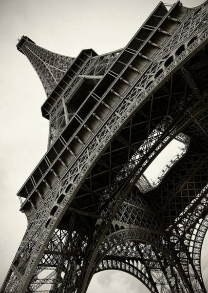 Tilted Eiffel Art Print