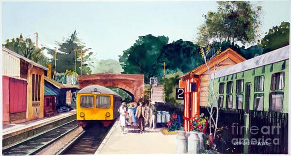 Painting - Tilton Station by Douglas Teller