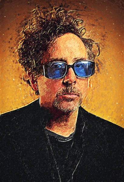 Wall Art - Digital Art - Tim Burton by Zapista Zapista