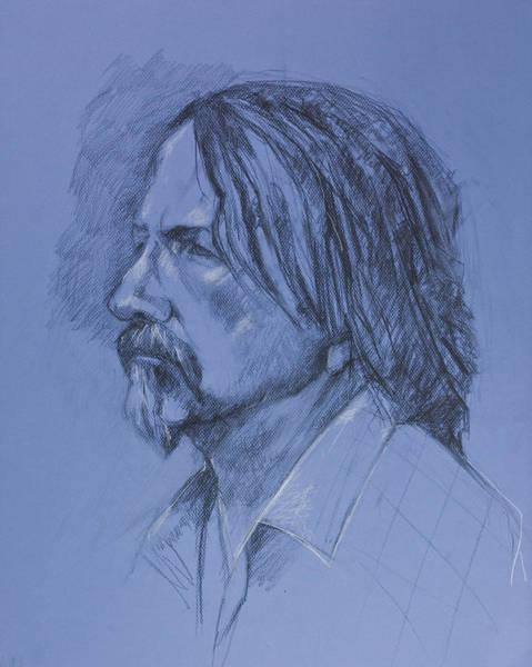 Drawing - Tim by Maxim Komissarchik