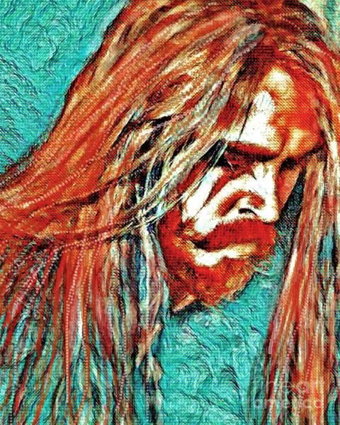 Digital Art - Tim Ohrstrom by Jessie Art