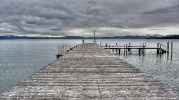 Timbers Photograph - Timber Cove Pier Lake Tahoe by Brad Scott