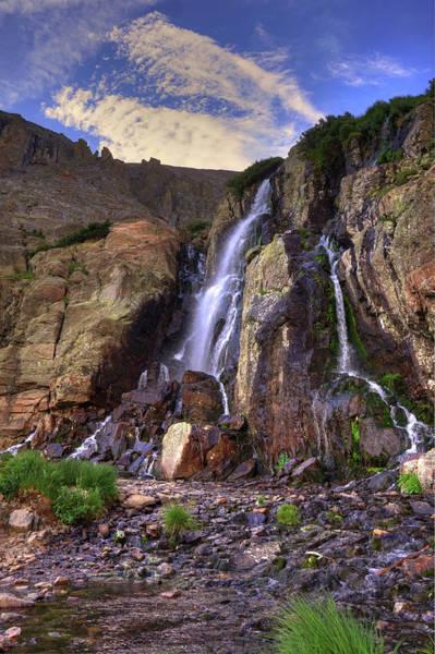 Wall Art - Photograph - Timberline Falls by David Ross