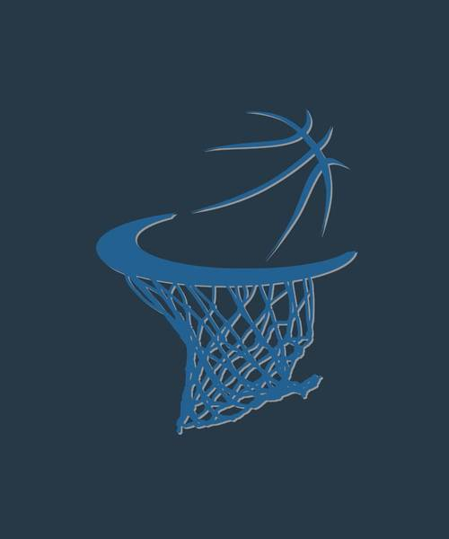 Timberwolves Photograph - Timberwolves Basketball Hoop by Joe Hamilton