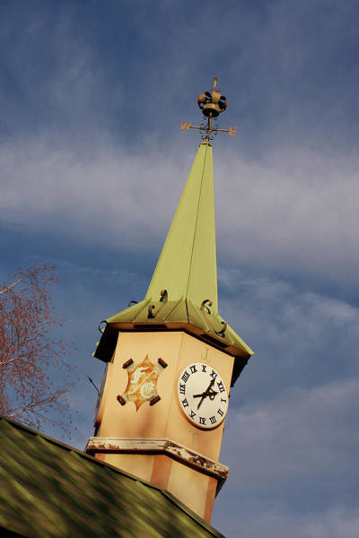 Solvang Photograph - Time by Art Block Collections