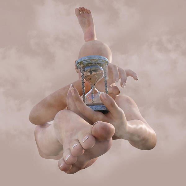 3d Render Digital Art - Time Can Heal 2 Of 5 by Betsy Knapp
