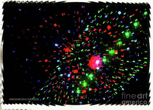 Wall Art - Digital Art - Time Explosion  by Michael Wayne Gulliver