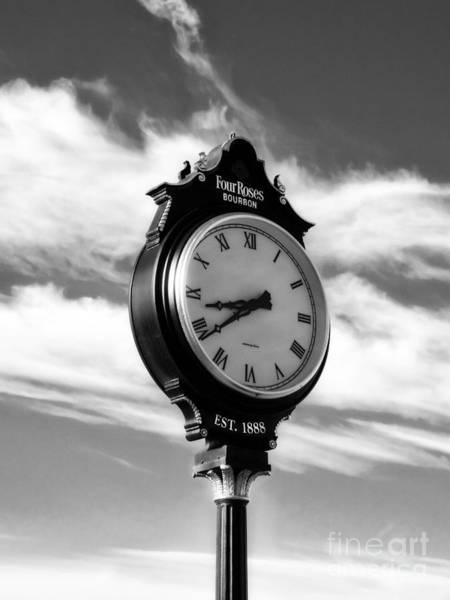 Photograph - Time For Bourbon Black And White by Mel Steinhauer