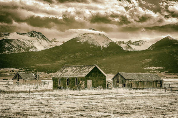Westcliffe Photograph - Time Forgotten by Eric Glaser