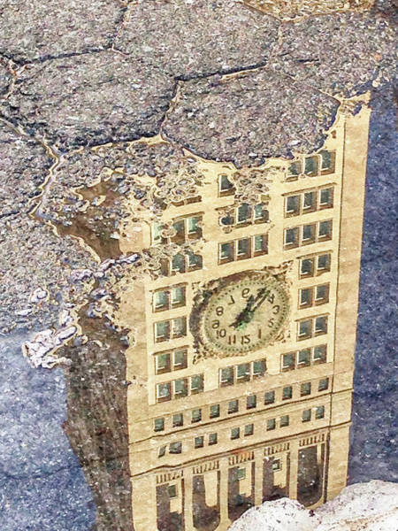 Photograph - Time In A Puddle by Cate Franklyn