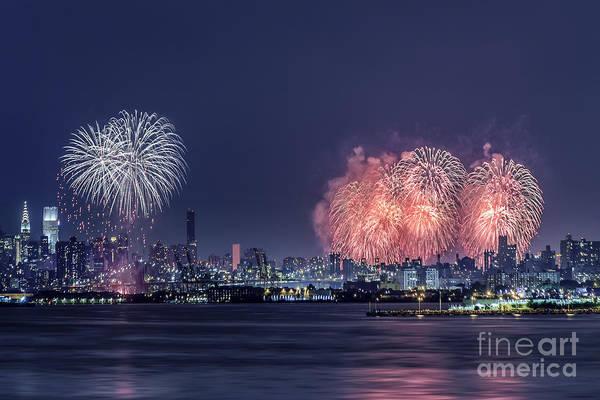 Fireworks Photograph - Time Of Glory by Evelina Kremsdorf